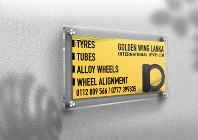 Golden Wing Lanka Board Design