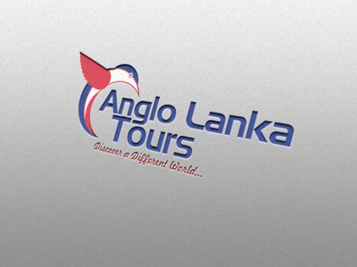 Anglo lanka Tours logo design