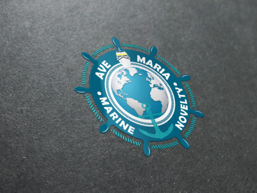 Ave Marine Logo Design