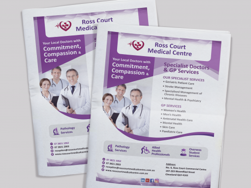 Ross Court Medical Center Newspaper Ad