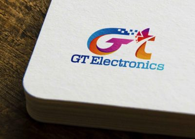 GT Electronic Logo Design