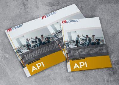 Mobisec Brochure Design