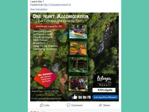 Leloya Eco Cottage Facebook Posts