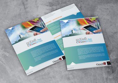 Omobio Brochure Design