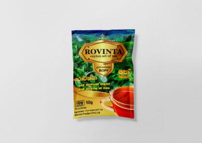 Rovinta Tea Packaging
