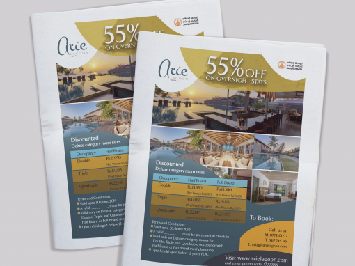 Aire Lagoon Newspaper Ads
