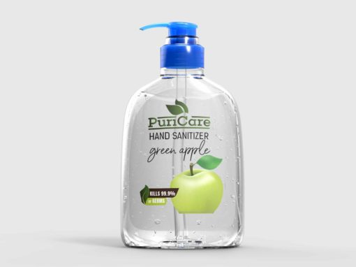 Puri Care Hand Wash Label