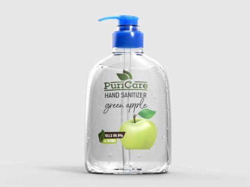 Puri Care Hand Wash Label