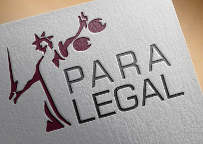 Para legal counsel logo Design