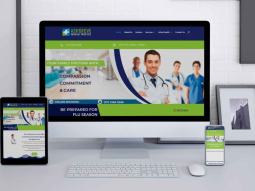 Ashgrovegp Website Design