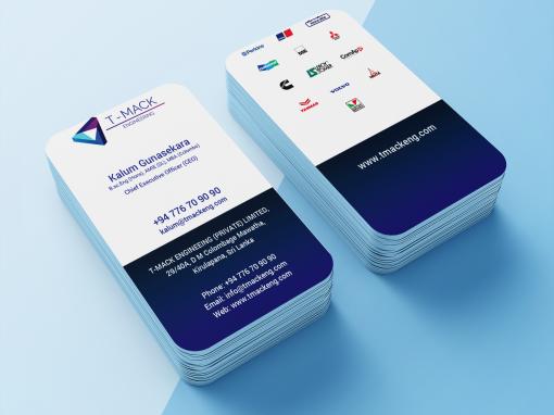 T-Mack Business Card Design