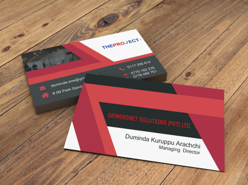 Siemensenet Business Card Design