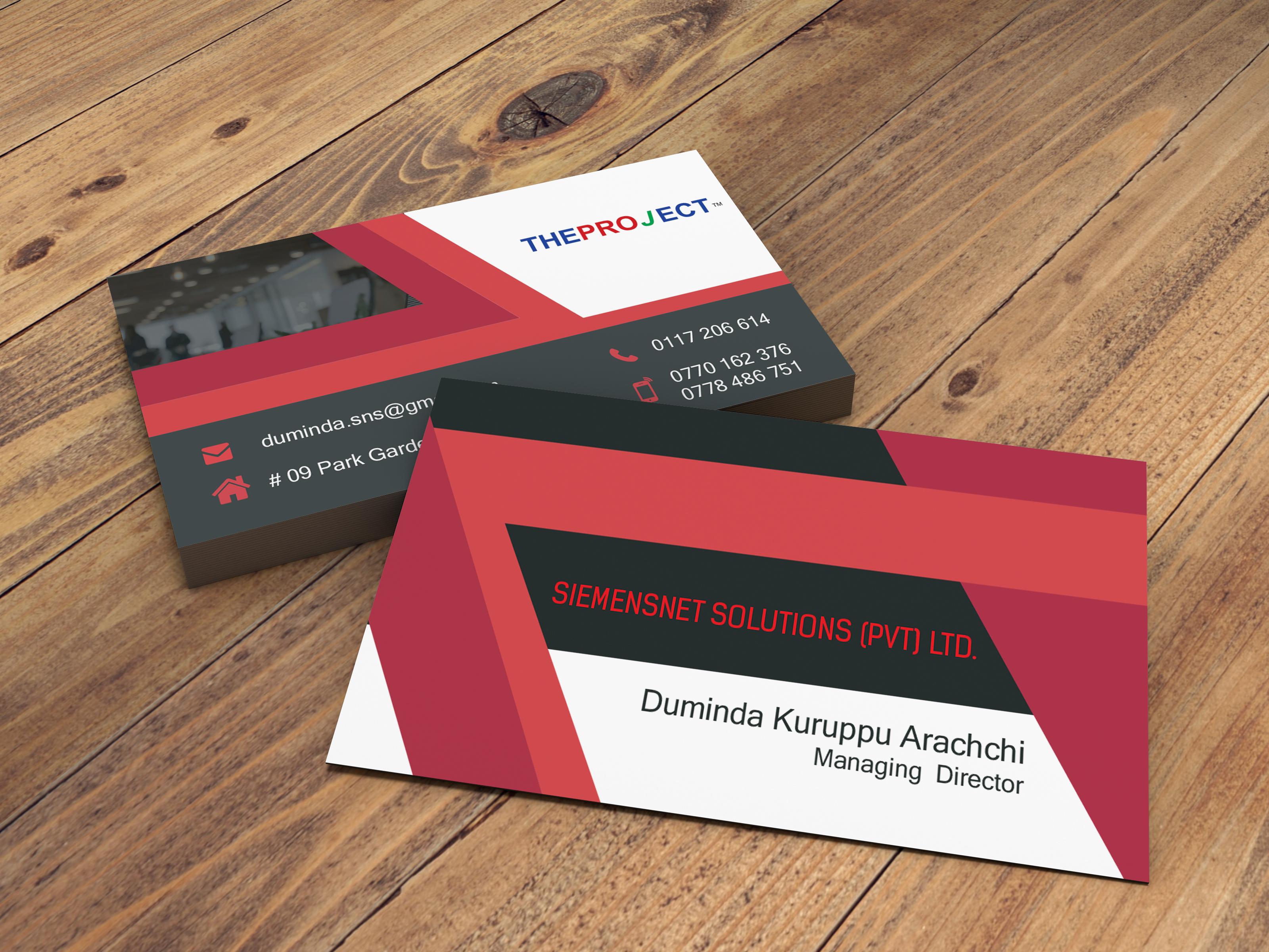 Business Card Sri Lanka