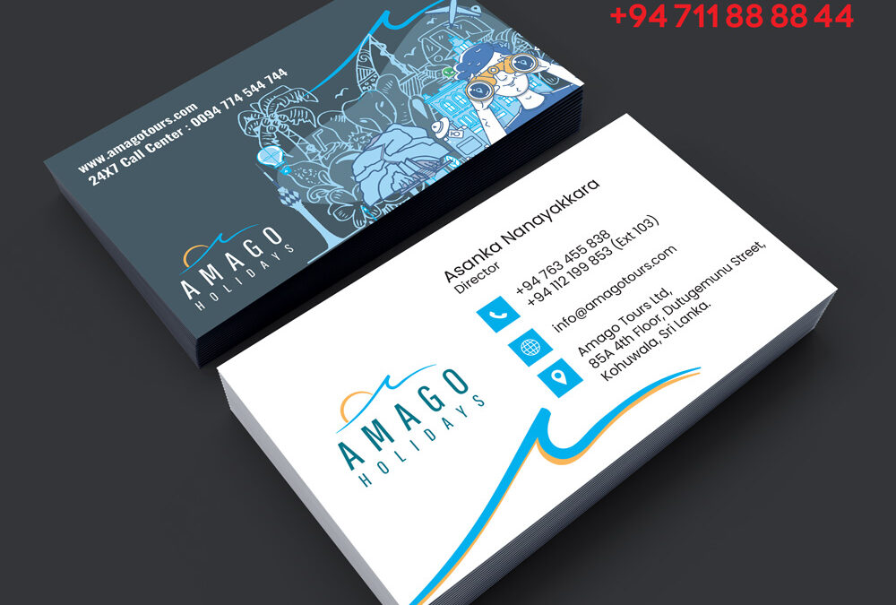 Business card travel agencies