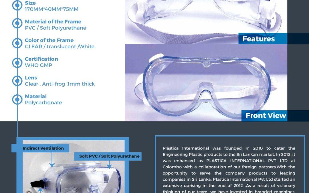 Plastica International Product Data Sheet