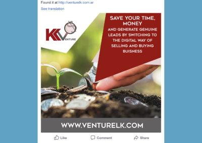 K Venture Facebook Posts