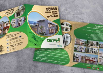 leaflet for Construction