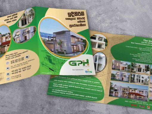 leaflet for Construction