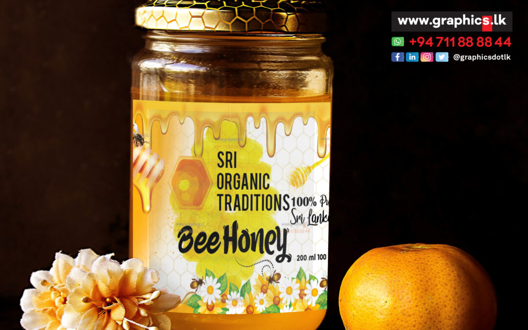 label and packaging in Bee Honey