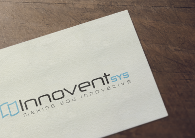 Innovent Sys Logo Design