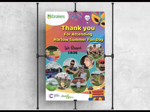Poster Design for Summer fun day