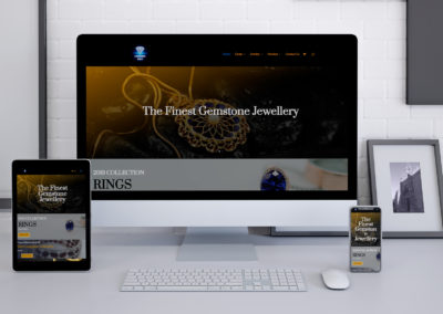 Prasanna Gems Website Design