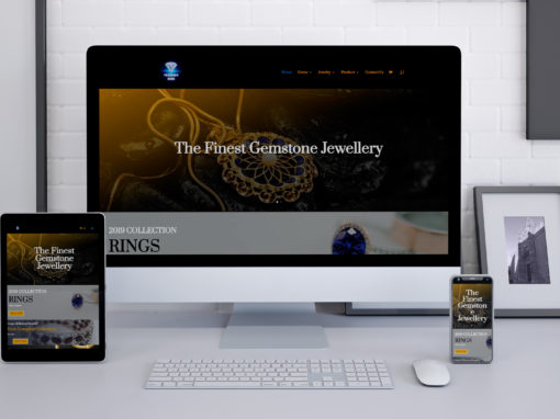 Prasanna Gems Website Design