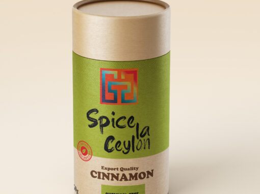label and packaging design for spice products