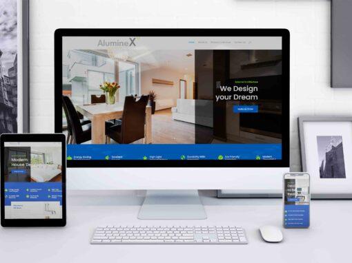 Aluminex Website Design