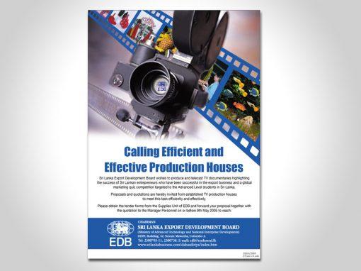 EDB Flyers Design