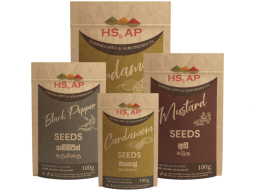Packaging in Spices Product