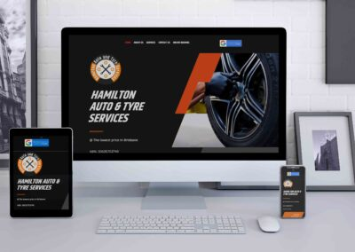 Hamilton Auto and Tyre Website