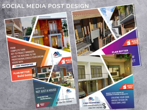Social Media Post Design for Property