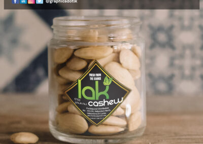 Label Design for Cashew Product