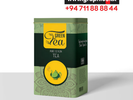 Tea Label Design