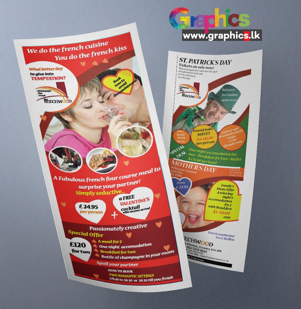 Beech Wood Leaflet Design