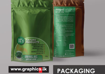 Label Design for Nature Product