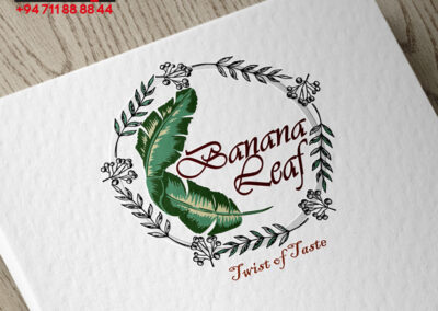 Logo Design Concepts – Banana leaf