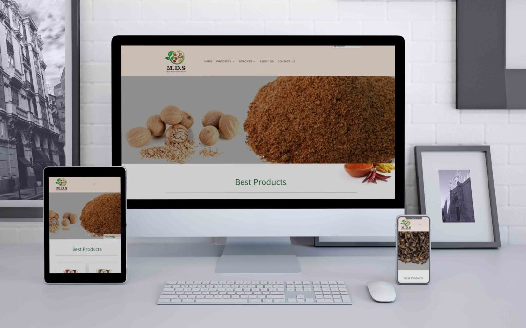 Mds Spices Export Website