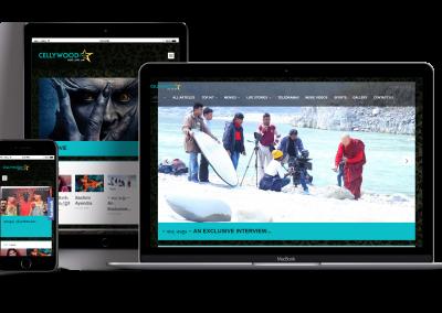 Cellywood Stars Websites Design