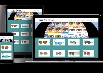 The Optical Websites Design