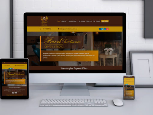 Pearlradiance Website