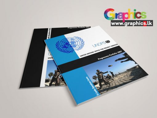 UNOPS Brochure Design