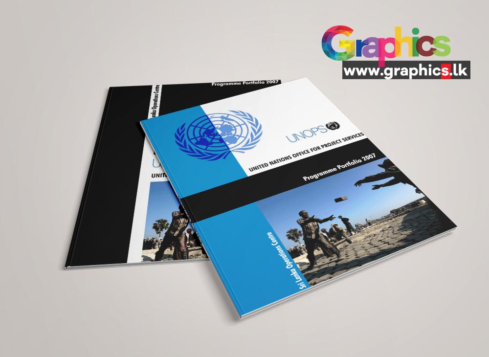 UNOPS Brochure Design
