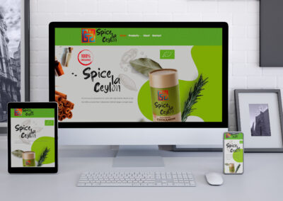 Website for Spices