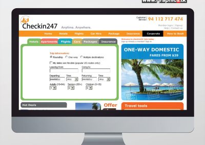 Web Site – Hospitality Industry